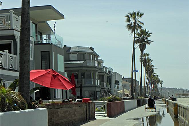 Mission Bay Bike Path   Vacation rentals on the boardwalk