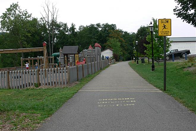 Mon River Trail North playground @ star city a place for the kiddies too