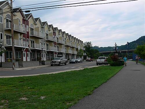 Mon River Trail North star city living town home living next to the trail