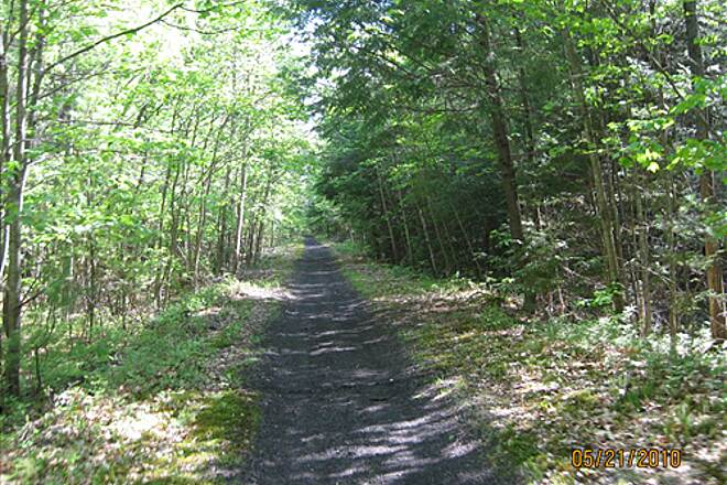 Monadnock Recreational Rail Trail Monadknock trail Easy bike ride for 8.7 miles from Jaffery