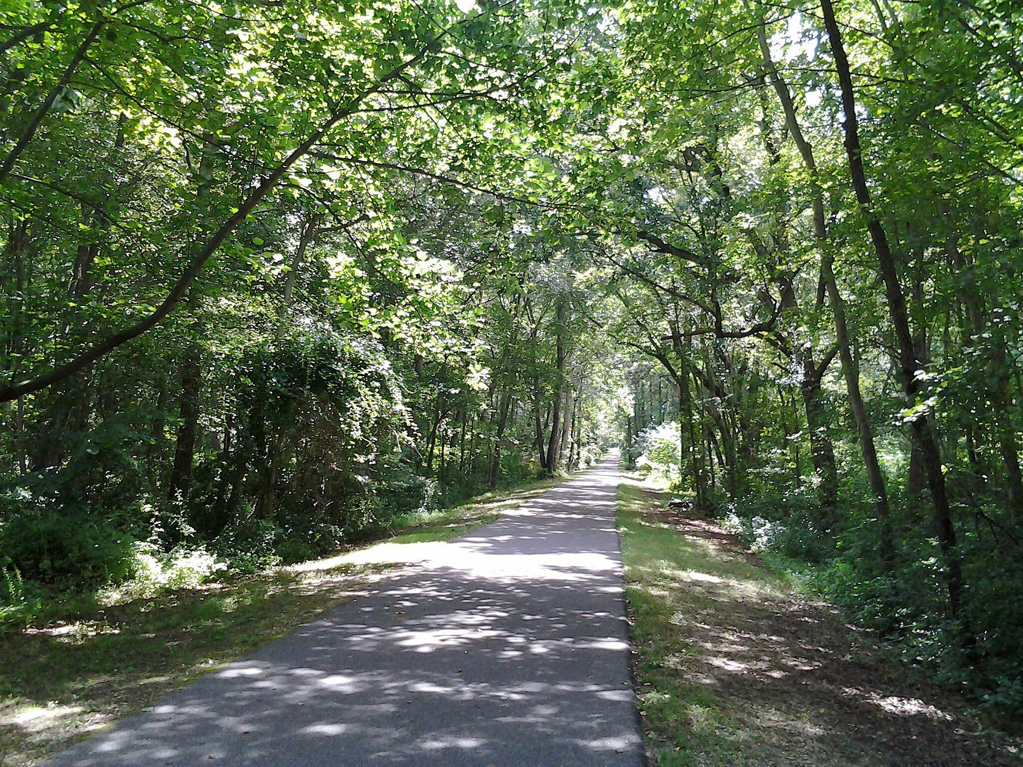 Monroe Township Bikeway Monroe Township Bikeway Beautiful trail,tree line most of the way.2014