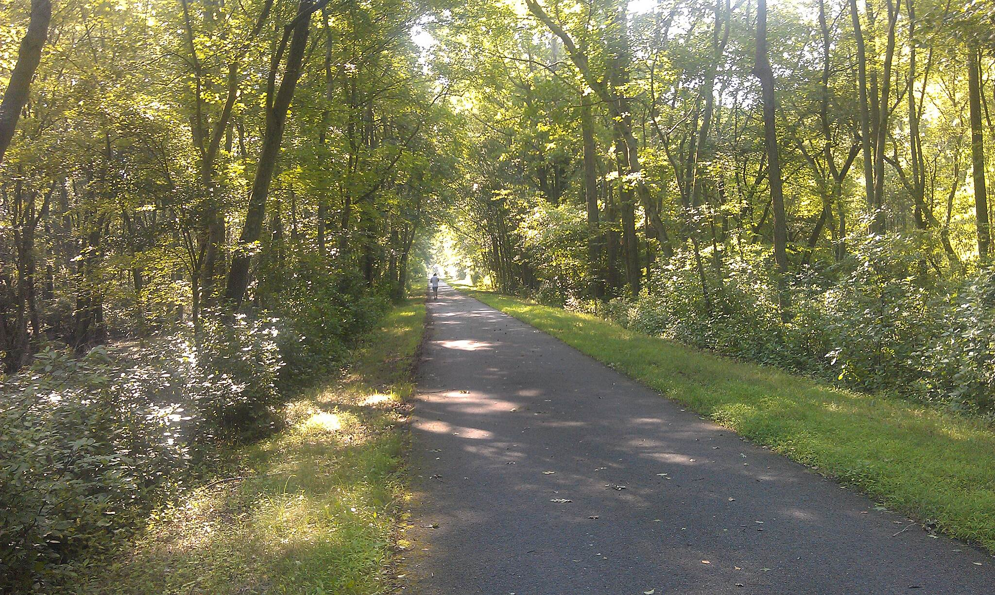 Monroe Township Bikeway On the trial Monroe Twp Bikeway Stop to enjoy what's around you.