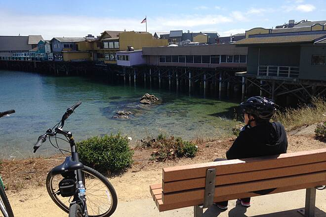 Monterey Bay Coastal Recreation Trail Fishermans warf