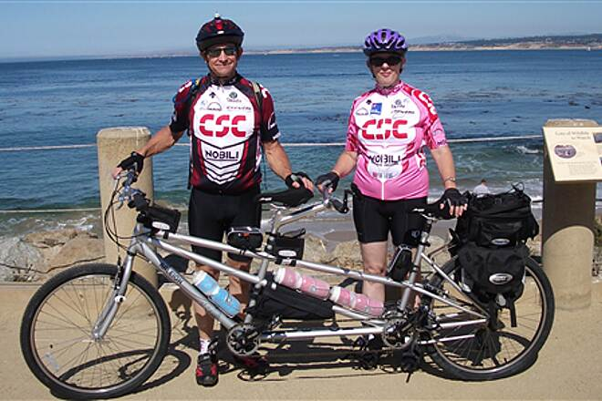 Monterey Bay Coastal Recreation Trail Day on the Monterey Bay Trail Maiden tandem ride