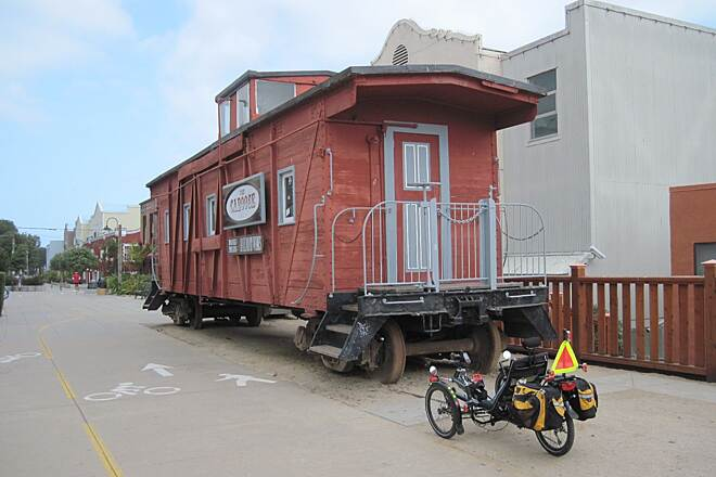 Monterey Bay Coastal Recreation Trail MONTEREY BAY COASTAL TRAIL Caboose meets trike.