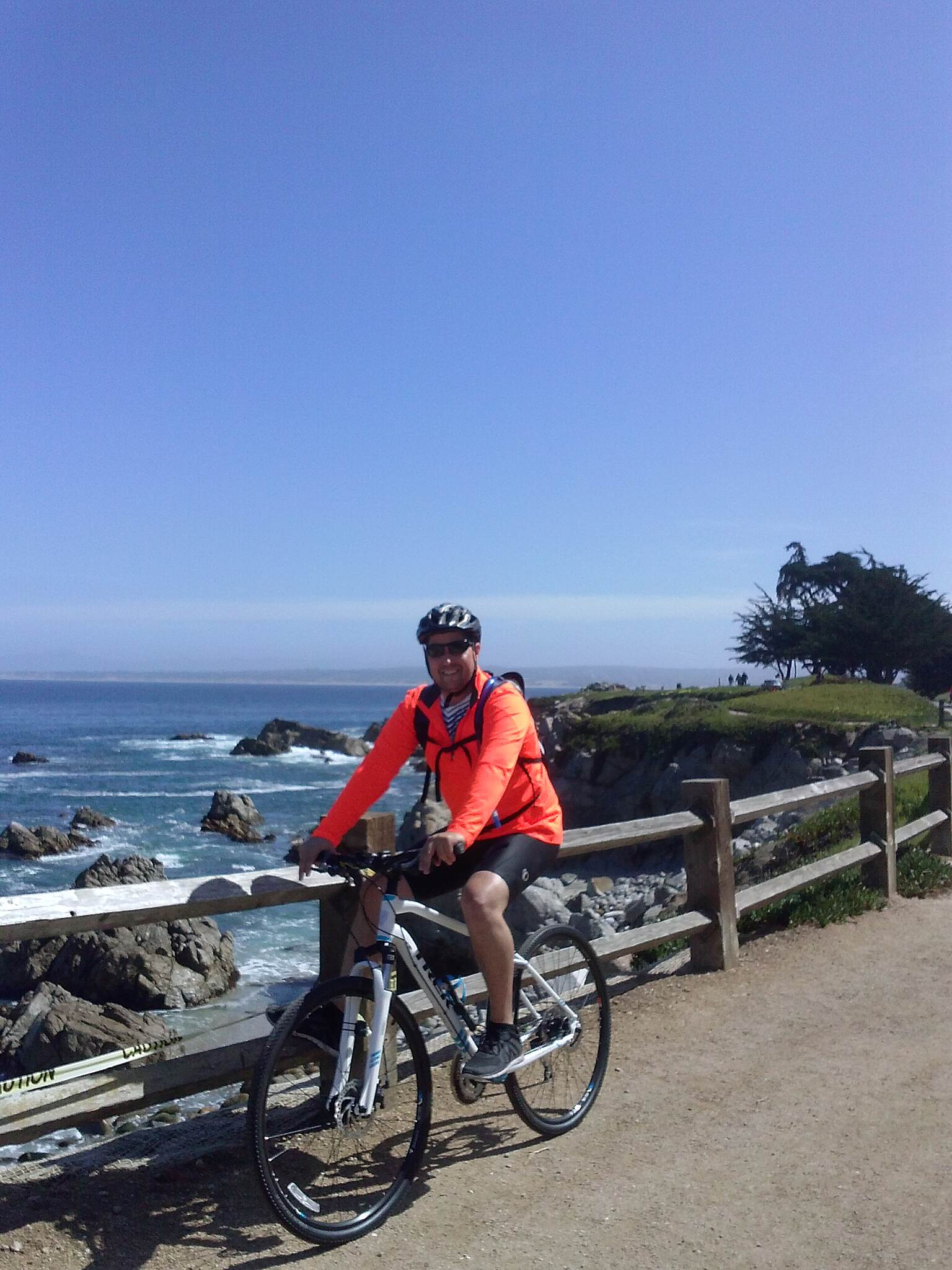 Monterey Bay Coastal Recreation Trail Great Ocean Views!
