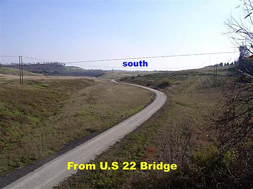 Montour Trail Montour  From U.S. 22 Overpass