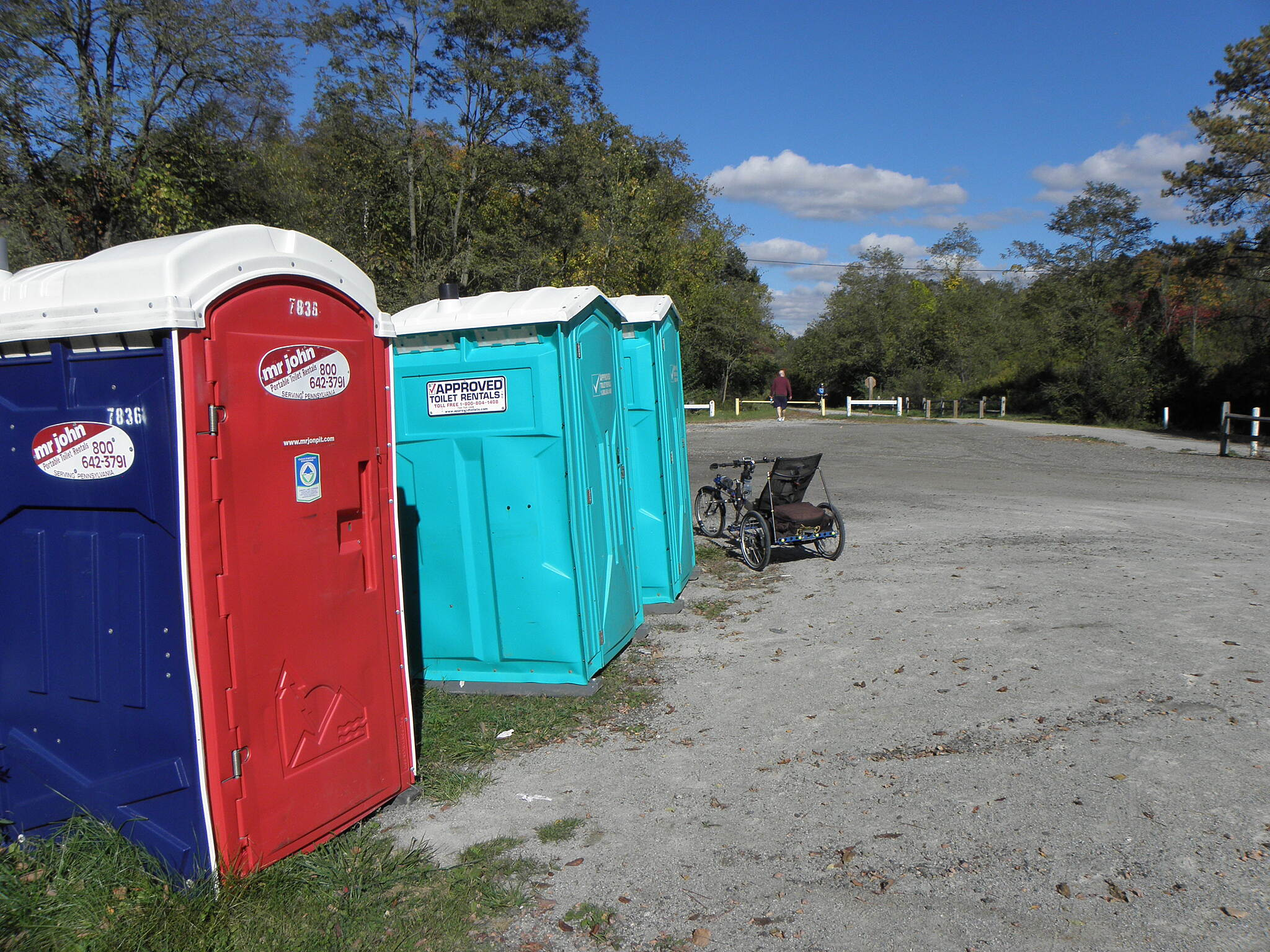 Montour Trail Facilities on the trail Portable toilets are located at most trailheads.