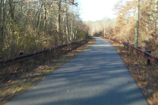 Moosup Valley State Park Trail  A short paved section used by East Coast Greenway