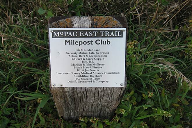 MoPac Trail East Milepost Club