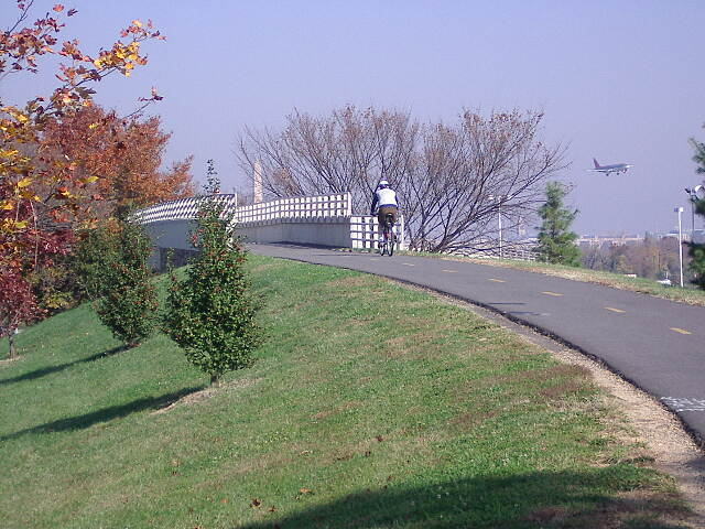 Mount Vernon Trail Near National Airport