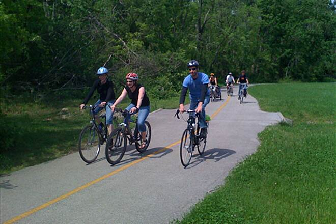 Mud Creek Trail Mud Creek Trail Fayetteville residents bicycle Mud Creek Trail in May 2009.