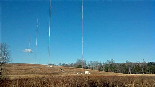 Muddy Creek Greenway Muddy Creek Greenway - North WSJS Radio Transmitter Towers