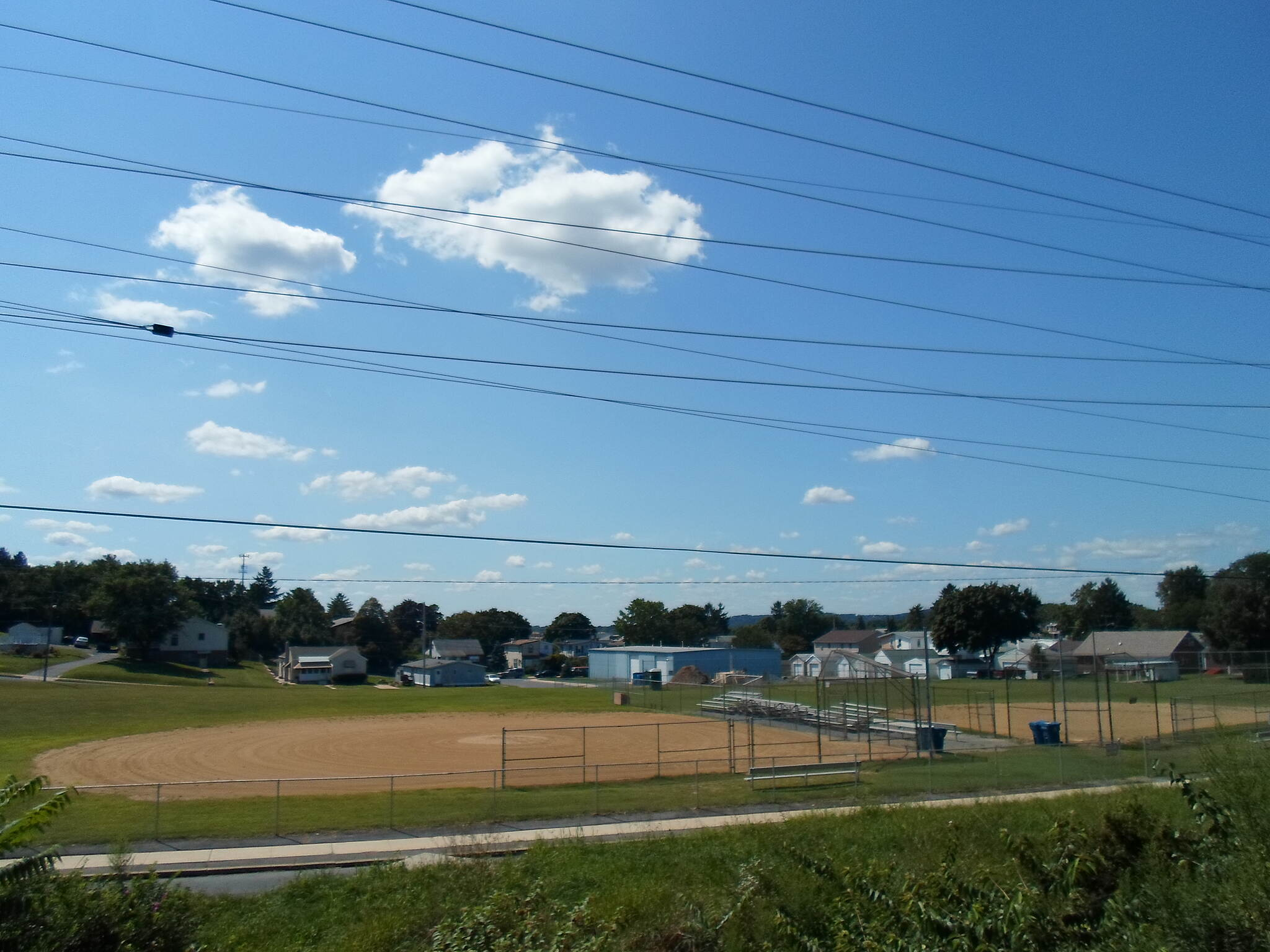 Muhlenberg Rail Trail Muhlenberg Rail Trail Another view of the athletic fields and surrounding communities on the north end of Laureldale.