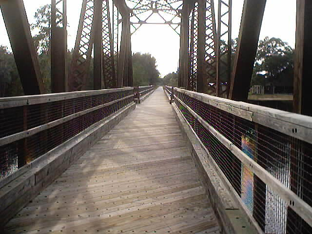 Nature Coast State Trail Suwannee River Bridge.