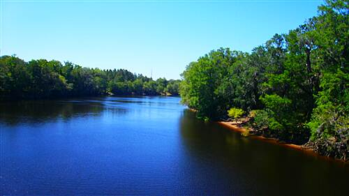 Nature Coast State Trail Nature Coast Trail - April 2012 The 'Blue' Suwanee River at Old Town