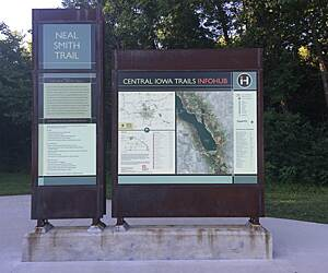 Port Neal Iowa Map.Iowa Geocaching Trails Trail Maps Traillink