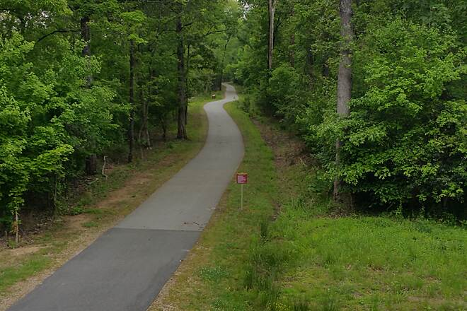 Neuse River Trail path
