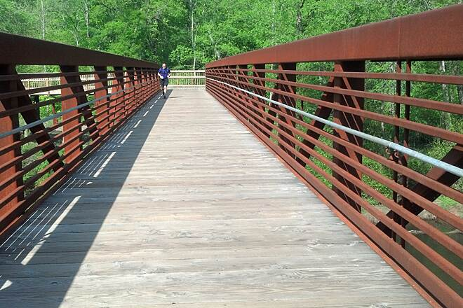Neuse River Trail bridges