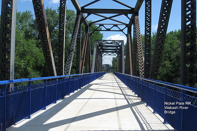 Nickel Plate Trail Wabash Bridge