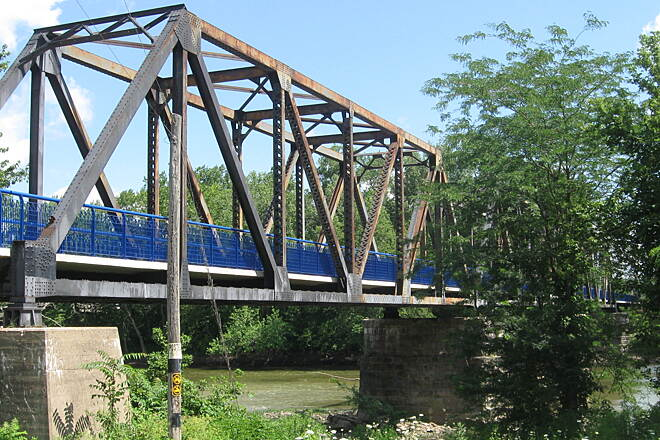 Nickel Plate Trail Wabash River Bridge