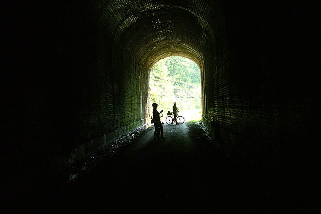North Bend Rail Trail Tunnel 19