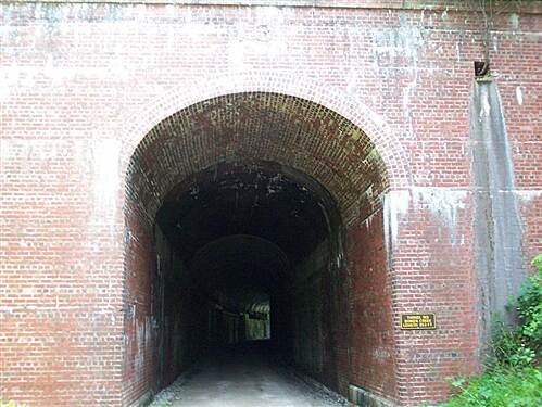 North Bend Rail Trail   One of the many tunnels on the North Bend Trail