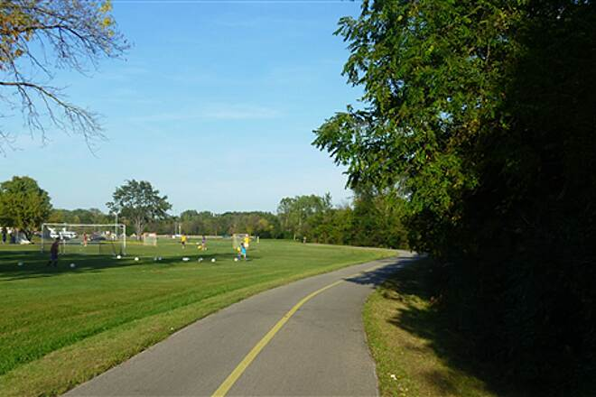 North Branch Trail New Trier HS sports field