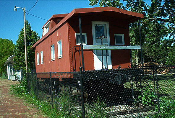 North Coast Inland Trail (Lorain County) Caboose in Oberlin