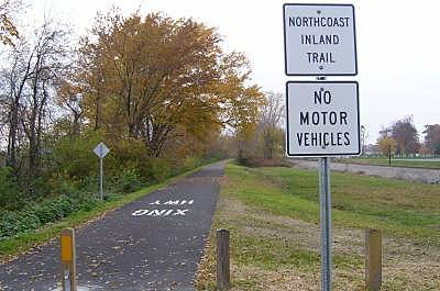 North Coast Inland Trail (Sandusky and Ottawa Counties) New Section East end of new section--After