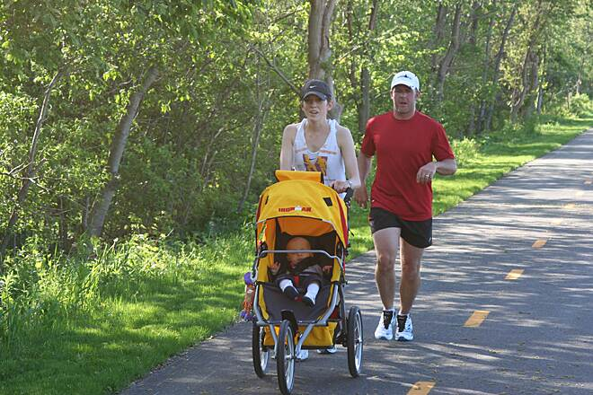 North Coast Inland Trail (Sandusky and Ottawa Counties) The trail is great for families!