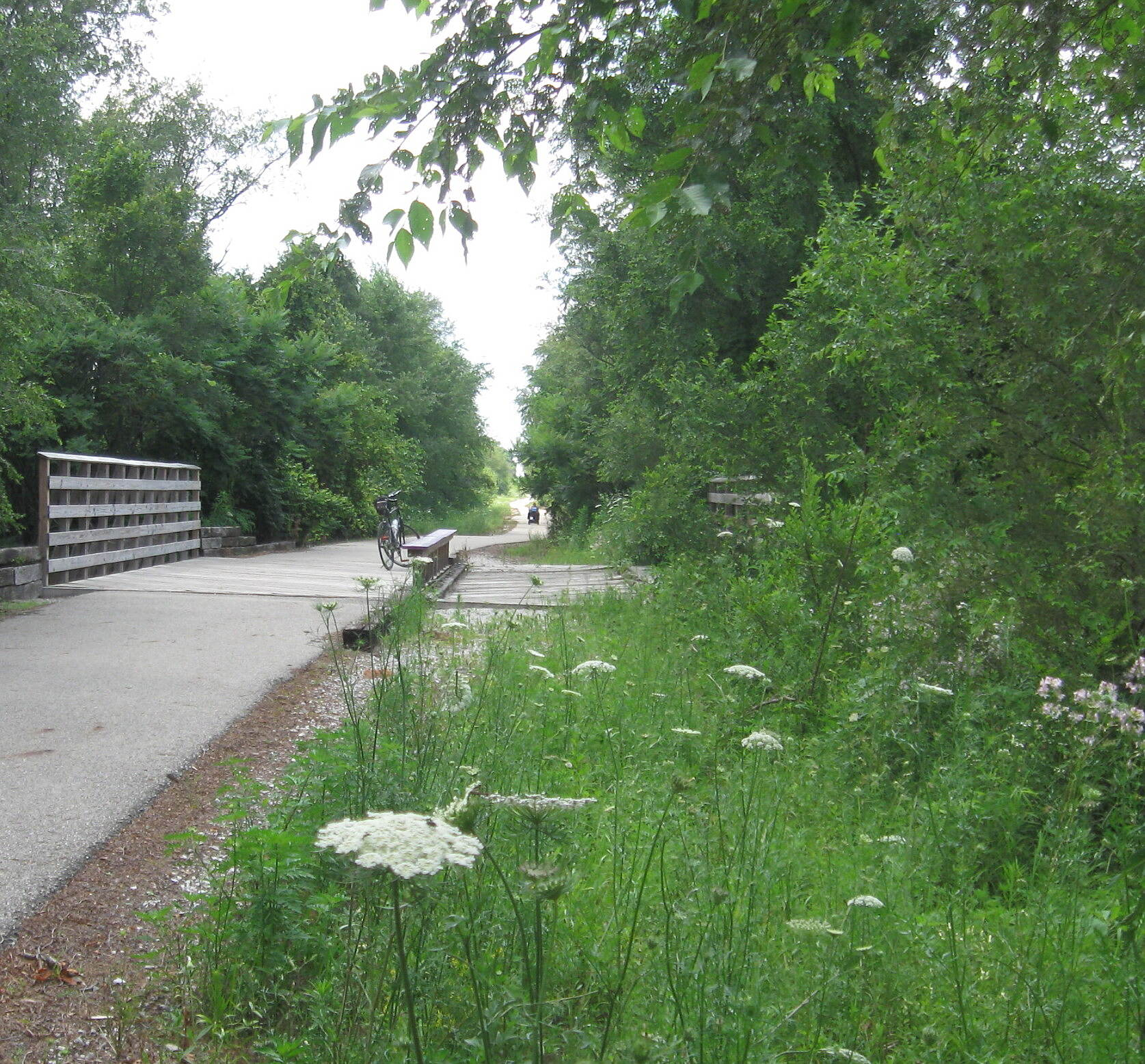 North Judson Erie Trail Bridge
