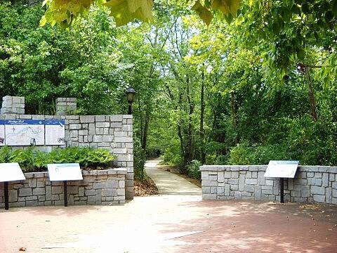 North Oconee River Greenway North Oconee River Greenway - Athens GA Trail passes historical markers - East Broad St - Athens GA.jpg