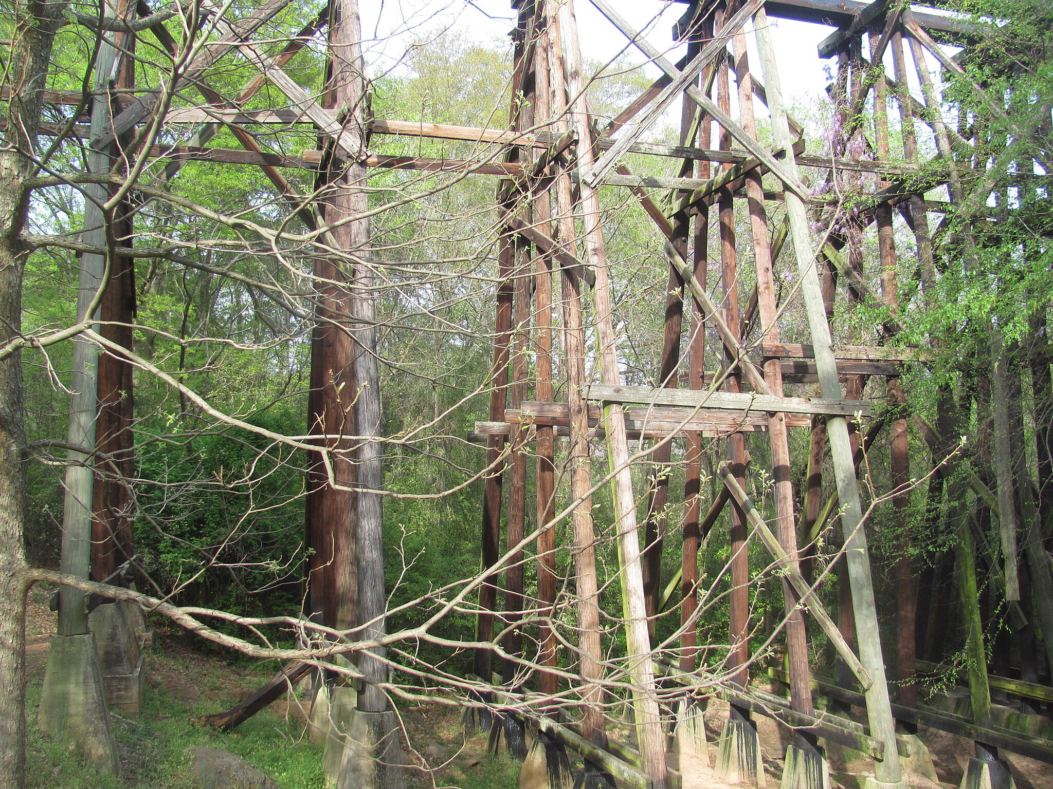 North Oconee River Greenway Old Railroad Trestle You might Recognize this REM 'Murmer' landmark. This is where the proposed Firefly trail would approach Athens.