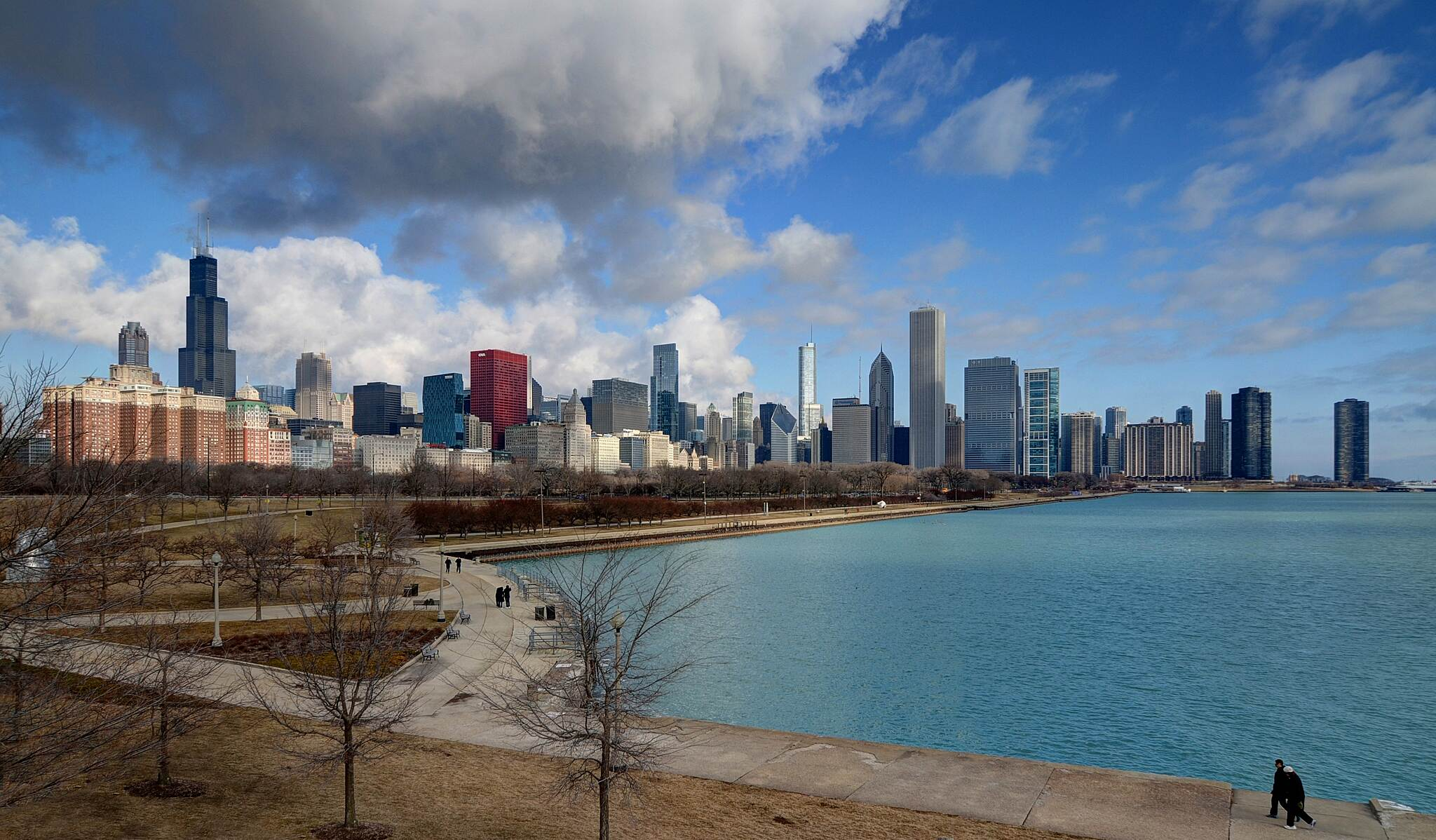 Northerly Island Trail Chicago skyline view from Northerly Island Photo by Craig Stevens