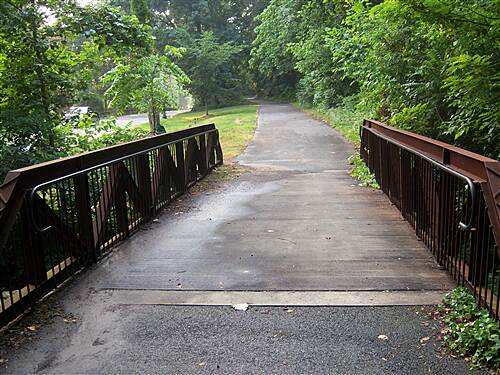 Northern Delaware Greenway Trail Northern Delaware Greenway This old railroad bridge was nicely refurbished for trail use