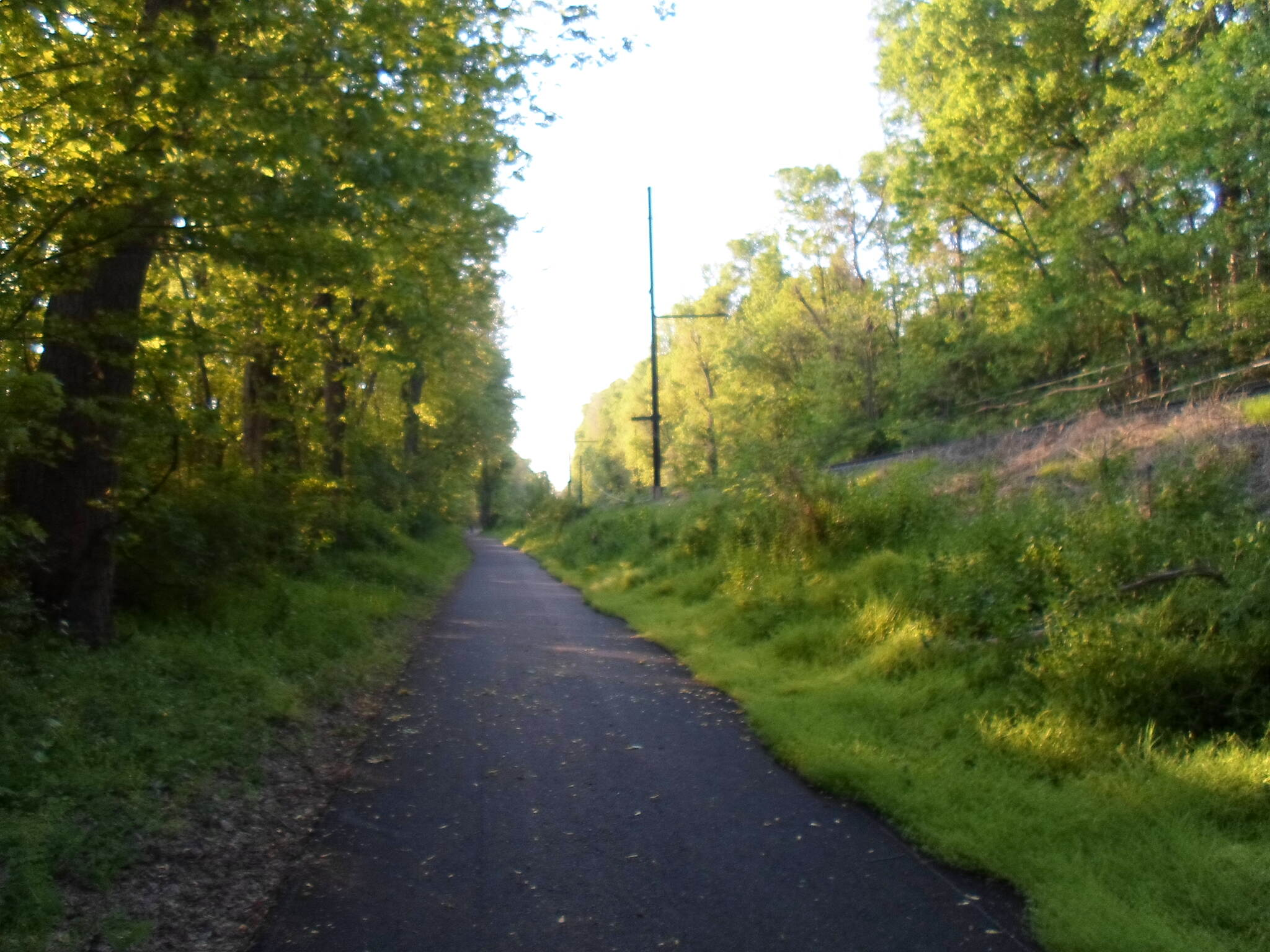 Northwest Lancaster County River Trail Northwest River Trail Rail with trail south of Bainbridge. Taken May 2015.