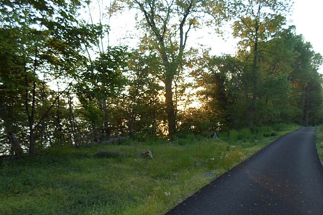 Northwest Lancaster County River Trail Northwest River Trail Dusk along the trail in springtime. Taken May 2015.