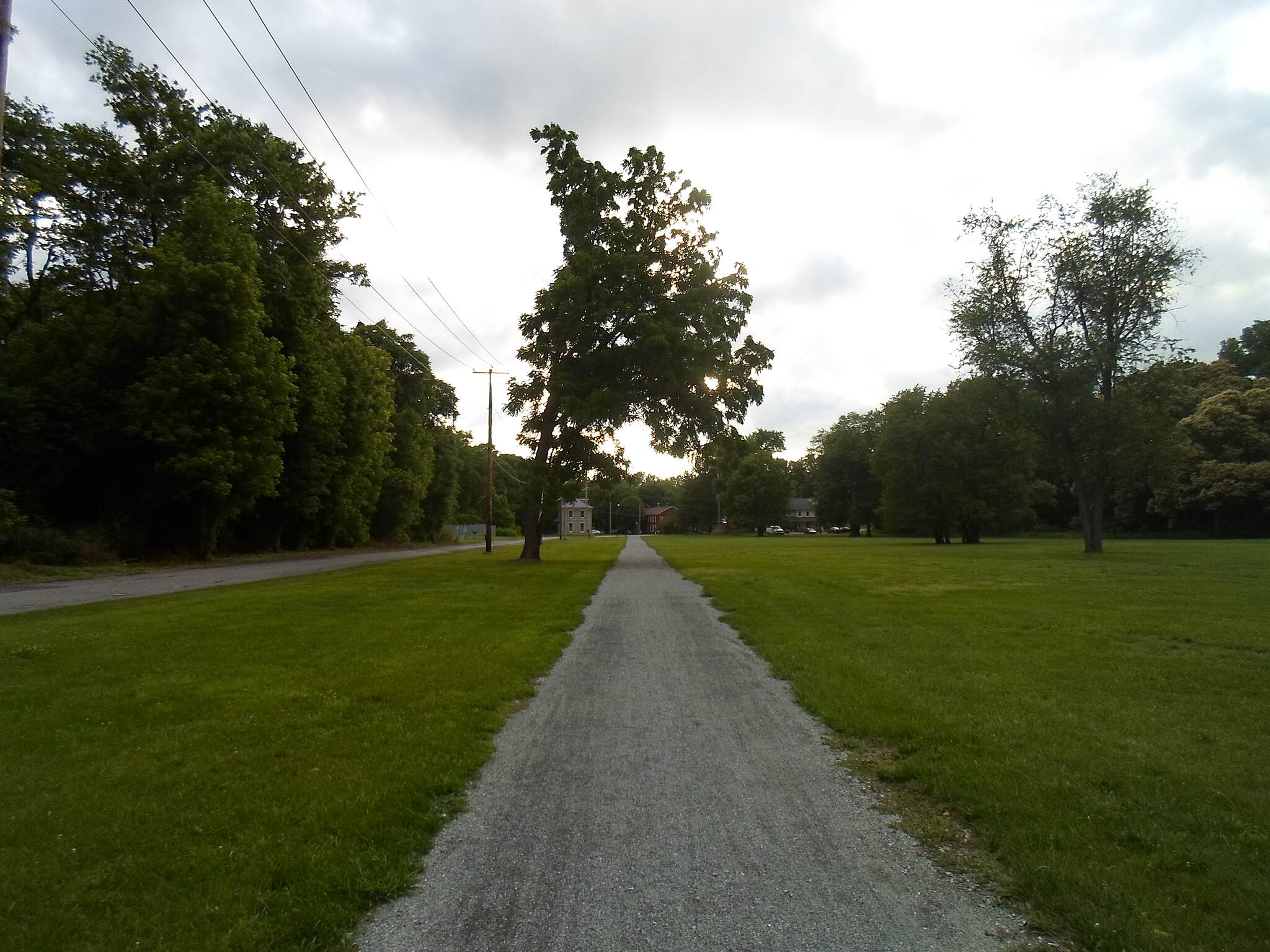 Northwest Lancaster County River Trail Northwest River Trail Looking west toward the old iron works offices in the day use section of Chickies Rock County Park. Taken June 2015.