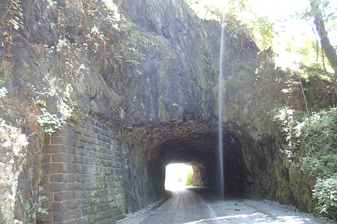 Northwest Lancaster County River Trail Northwest River Trail Passing through Point Rock Tunnel. Located just north of Columbia in Chickies Rock County Park, this historical gem is hidden no more, thanks to the trail. Taken Aug. 2016.