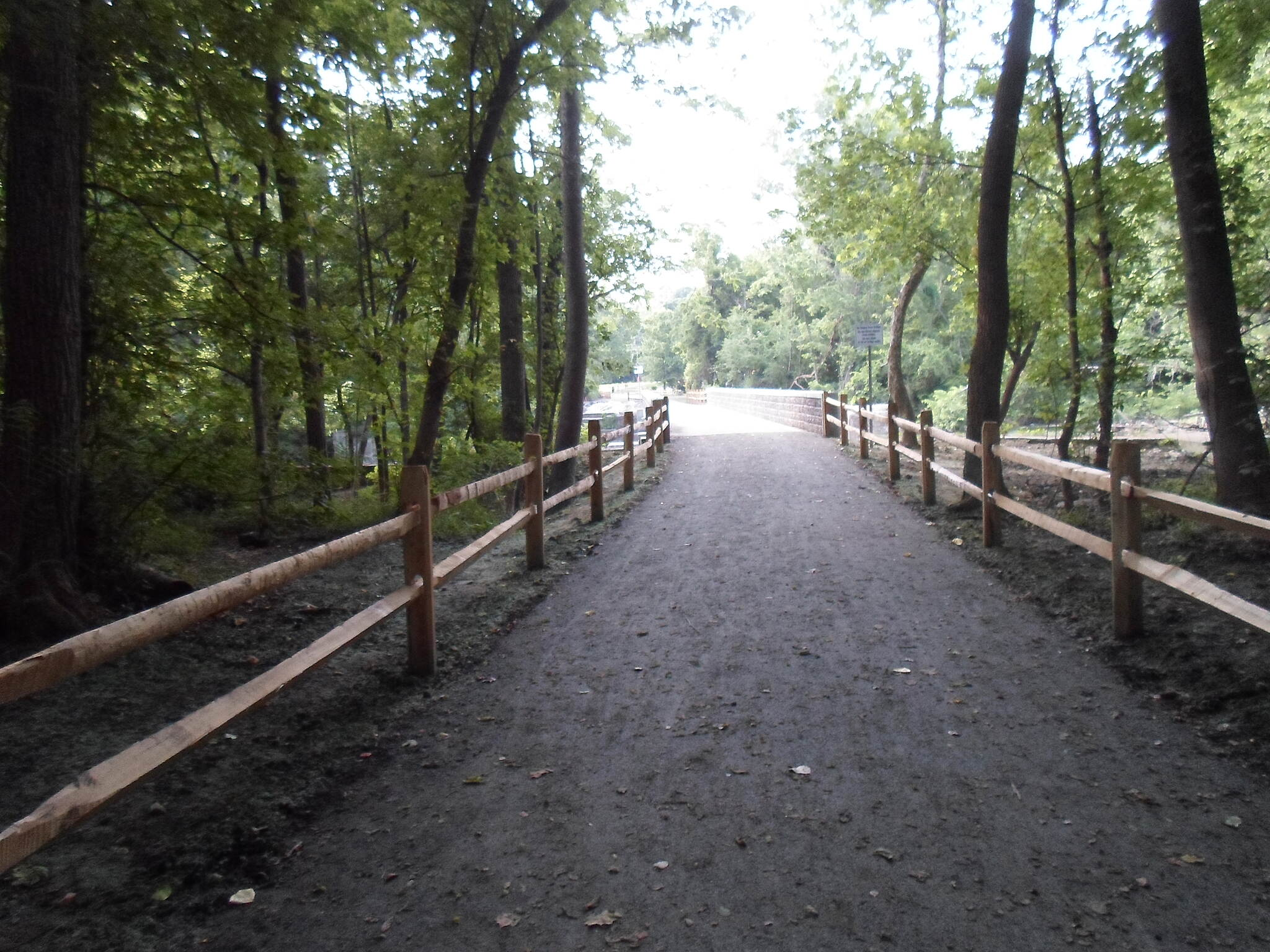 Northwest Lancaster County River Trail Northwest River Trail Approaching the new bridge over Chiques Creek from Chickies Rock County Park to the south. Taken June 2014.