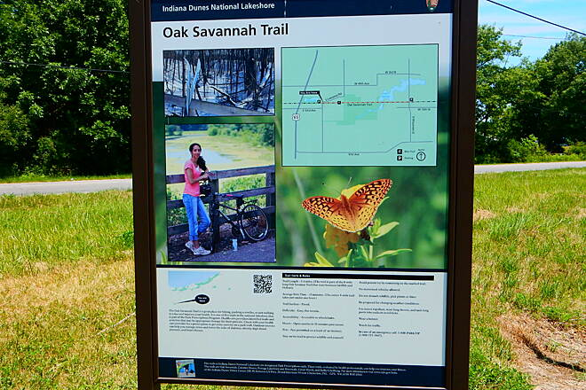 Oak Savannah Trail Nice placard 6-18-16