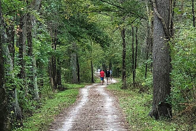Ohio & Erie Canal Towpath Trail A True Multi-use Trail On any given day, you will see people using the Ohio & Erie Canal Towpath Trail in the Cuyahoga Valley National Park for numerous activities such as running, walking, and biking.  Sept. 2019.