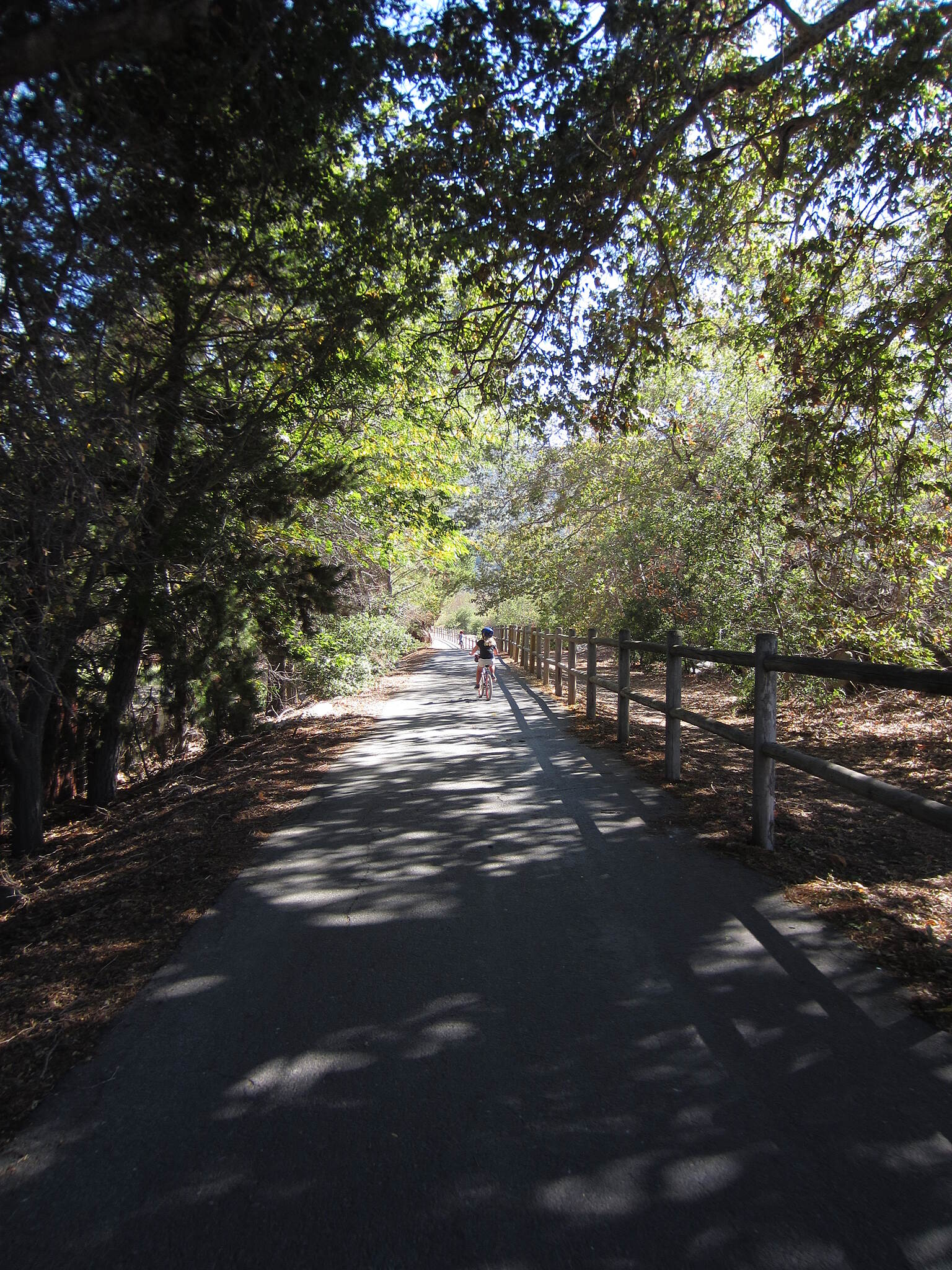 Ojai Valley Trail Ojai Valley Trail In Oak View headed towards Casitas Springs