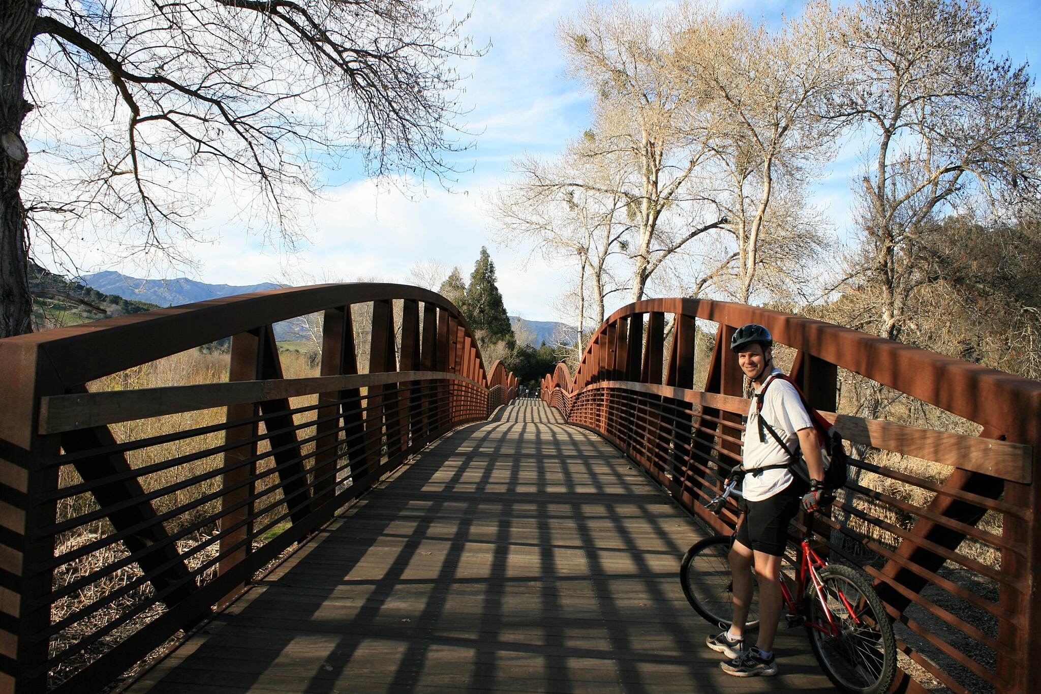 Ojai Valley Trail Bridge on the Ojai Valley Trail