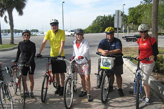 Old Cutler Trail RTC ride along a 7-mile section of the Old Cutler Trail in Coral Gables. RTC board members, staff and members participated.