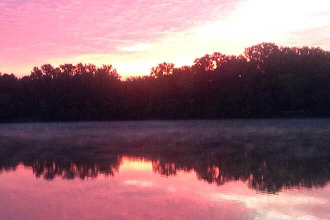 Olentangy Trail Olentangy sunrise