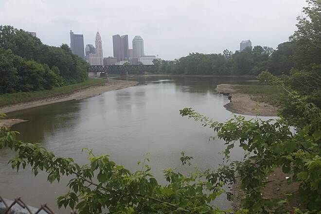 Olentangy Trail Olentangy Trail confluence of Olentangy & Scioto Rivers