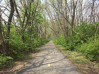 Olentangy Trail Trail Near the Lou Berliner Park
