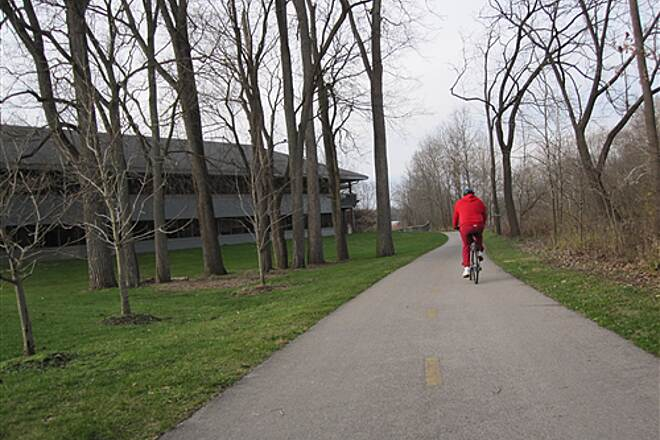 Olentangy Trail Olentangy Greenway Trail (Olentangy/Scioto Greenways) Heading back to Worthington Hills Park entrance